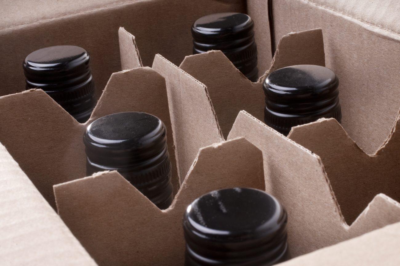 Photo of case of wine