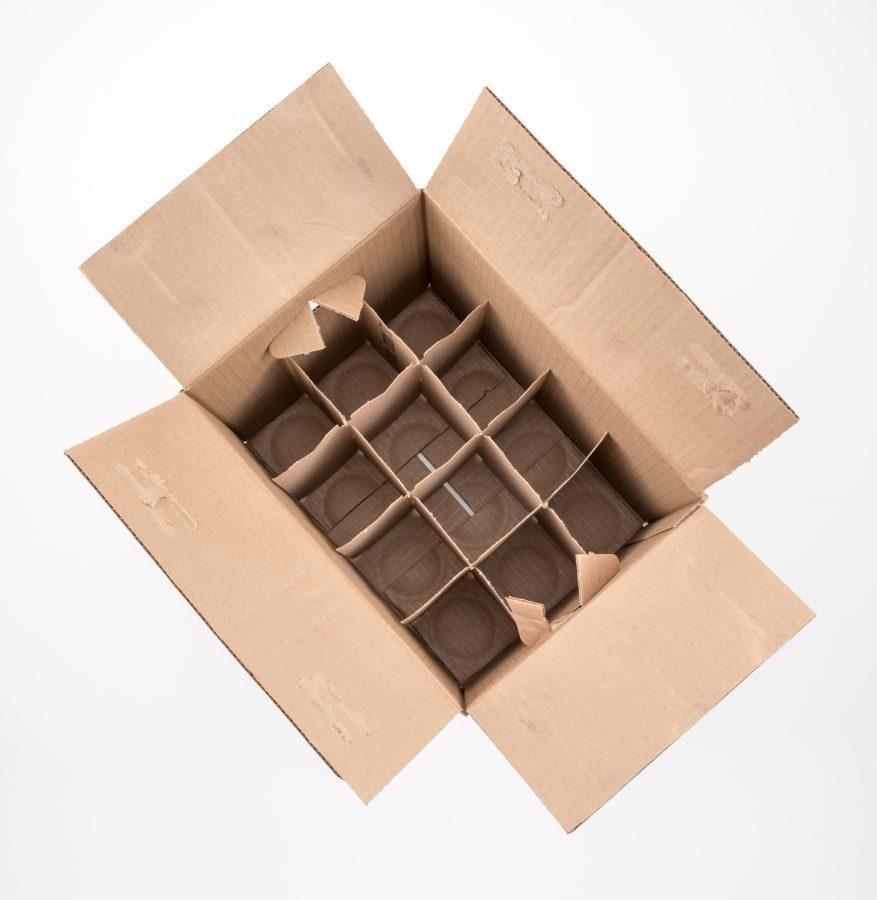 open box of wine