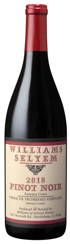 Williams Selyem Terra del Promissio Pinot Noir Bottle