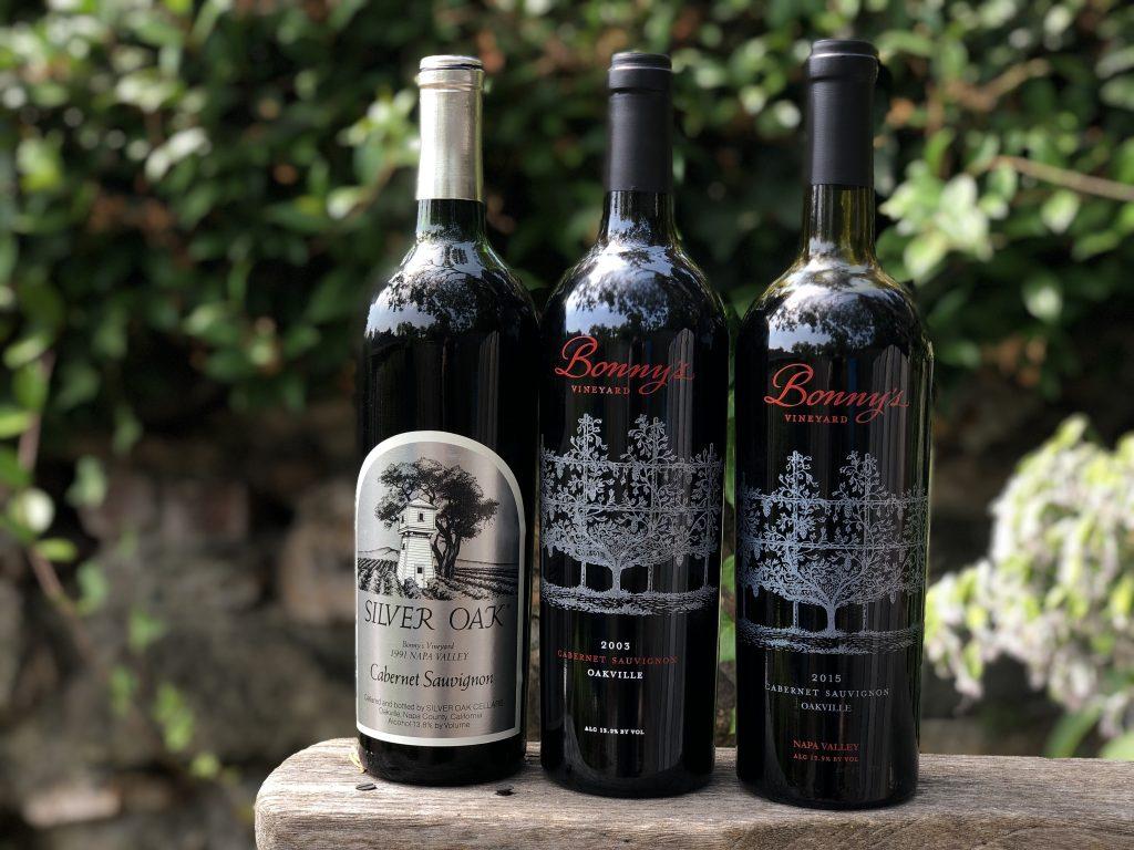 three bottles of Bonny's