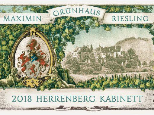 Maxmin Grunhauser Herrenberg Kabinett Label