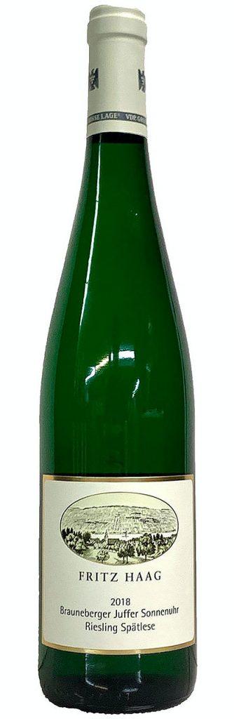 bottle of Fritz Haag Juffer Sonnenuhr Spätlese