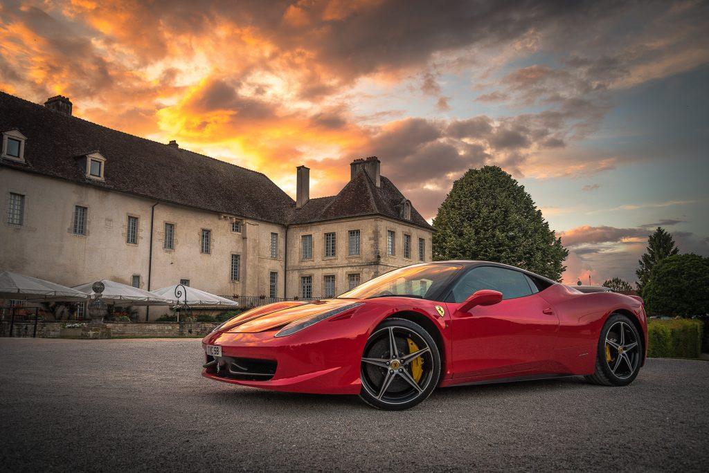Ferrari wine chateau